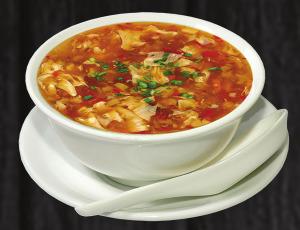 1. Pikantní polévka - 38 Kč
