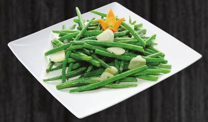 112. Smažené zelené fazole - 139 Kč