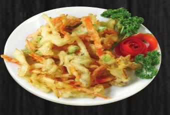 16. Smažená zelenina - 49 Kč